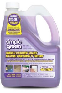 Simple Green Driveway and Concrete Pressure Washer Cleaner