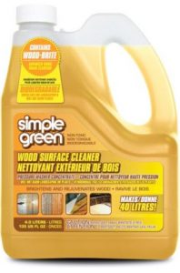 Simple Green Wood Pressure Washer Detergent