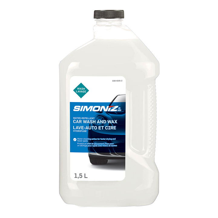 Simoniz Water Repellant Wash & Wax