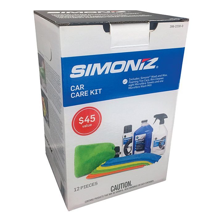 Simoniz Complete Car Care Kit